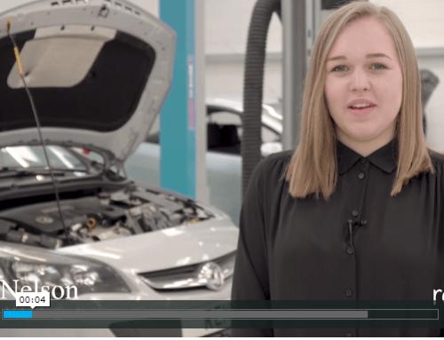 Abbie's Apprenticeship with Sytner Porsche