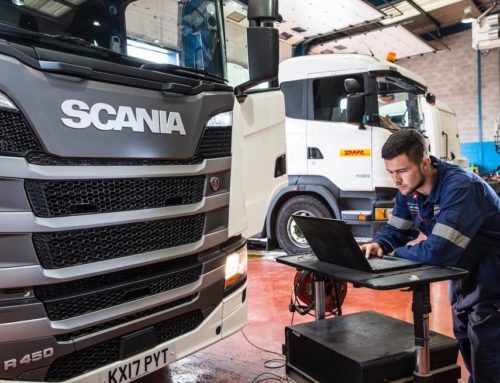 Scania Heavy Vehicle Apprentice ready to take on the world!